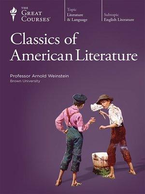 cover image of Classics of American Literature