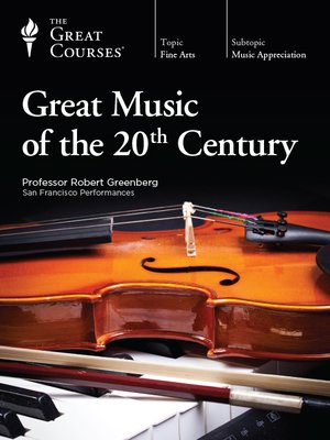 cover image of Great Music of the 20th Century