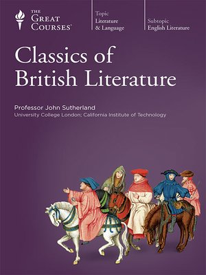 cover image of Classics of British Literature