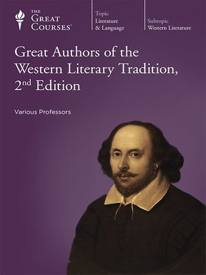 cover image of Great Authors of the Western Literary Tradition, 2nd Edition