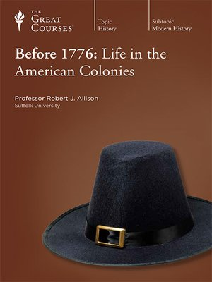 cover image of Before 1776