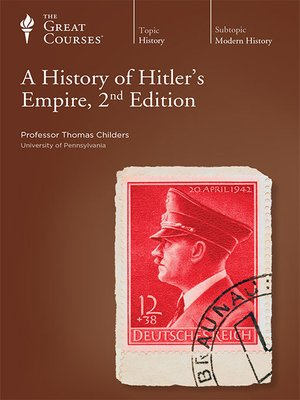 cover image of A History of Hitler's Empire, 2nd Edition