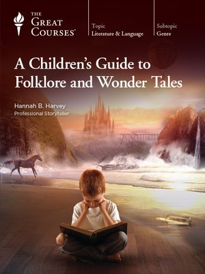 cover image of A Children's Guide to Folklore and Wonder Tales
