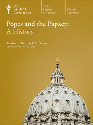 cover image of Popes and the Papacy