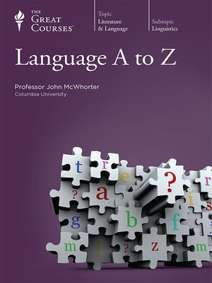 cover image of Language A to Z