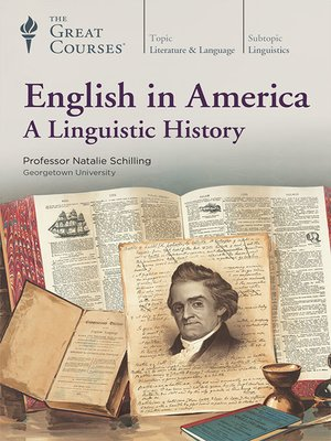 cover image of English in America