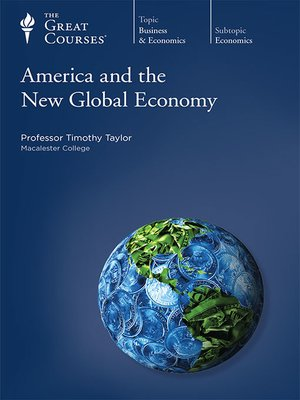 cover image of America and the New Global Economy