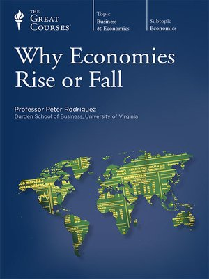 cover image of Why Economies Rise or Fall