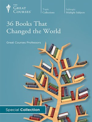 cover image of 36 Books That Changed the World