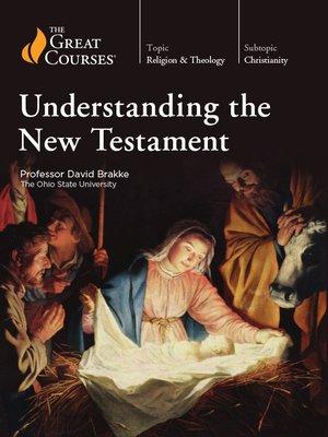 cover image of Understanding the New Testament