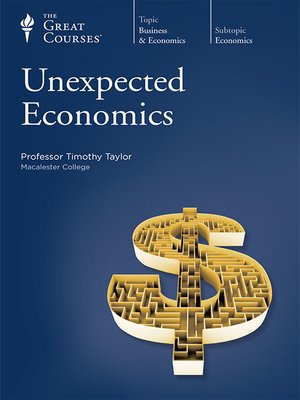 cover image of Unexpected Economics