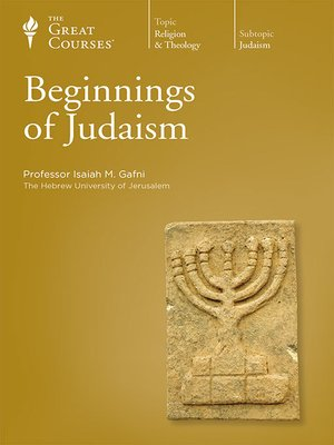 cover image of Beginnings of Judaism
