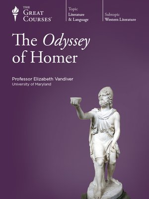 cover image of The Odyssey of Homer