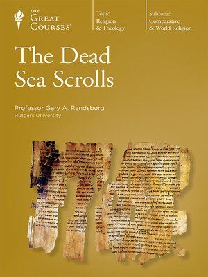 cover image of The Dead Sea Scrolls