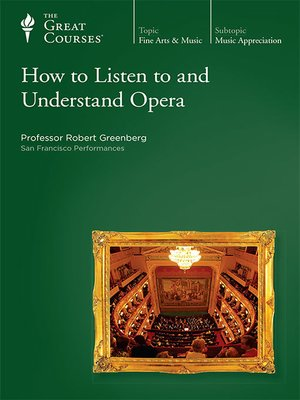 cover image of How to Listen to and Understand Opera