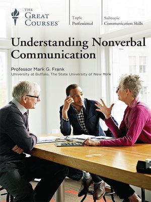 cover image of Understanding Nonverbal Communication