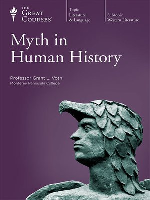cover image of Myth in Human History
