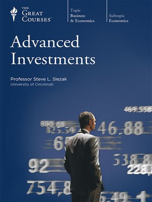 cover image of Advanced Investments
