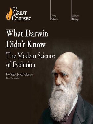 cover image of What Darwin Didn't Know