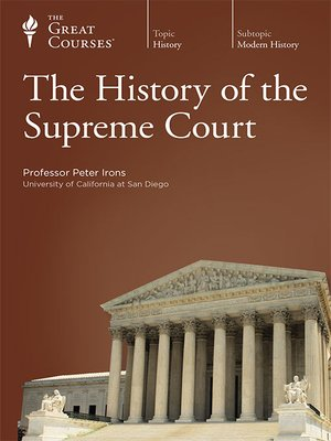 cover image of The History of the Supreme Court