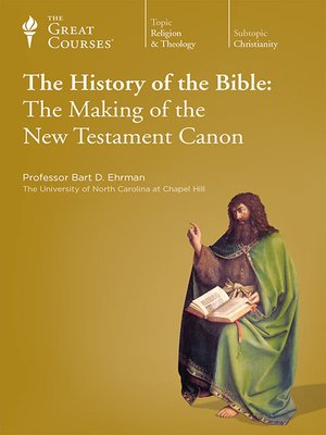 cover image of The History of the Bible