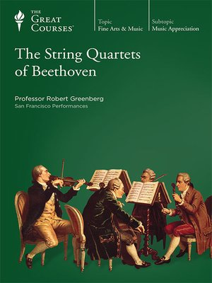 cover image of The String Quartets of Beethoven