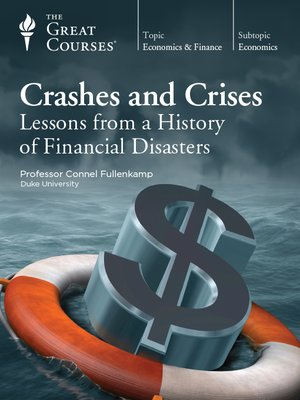 cover image of Crashes and Crises