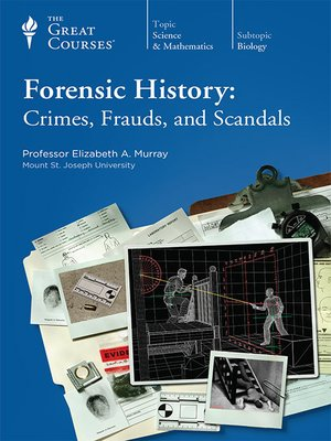 cover image of Forensic History