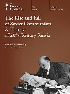 cover image of The Rise and Fall of Soviet Communism