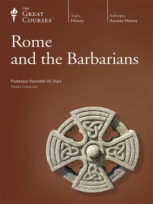 cover image of Rome and the Barbarians
