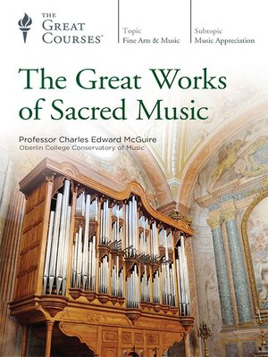 cover image of The Great Works of Sacred Music