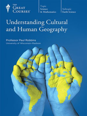 cover image of Understanding Cultural and Human Geography