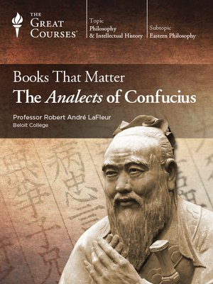 cover image of Books that Matter: The Analects of Confucius