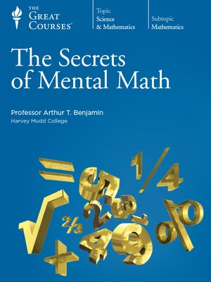 cover image of The Secrets of Mental Math