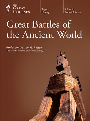 cover image of Great Battles of the Ancient World