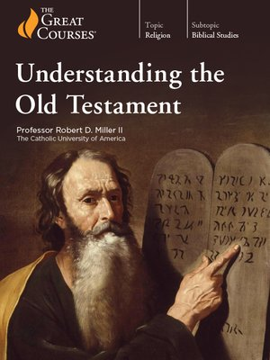 cover image of Understanding the Old Testament