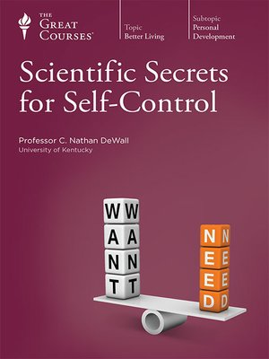 cover image of Scientific Secrets for Self-Control