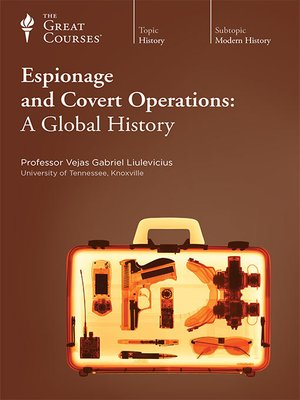 cover image of Espionage and Covert Operations