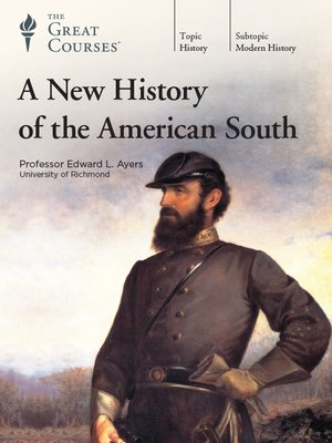 cover image of A New History of the American South