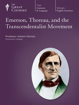 cover image of Emerson, Thoreau, and the Transcendentalist Movement