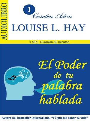 cover image of El poder de tu palabra hablada
