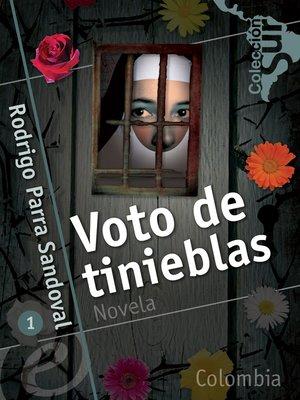 cover image of Voto de tinieblas
