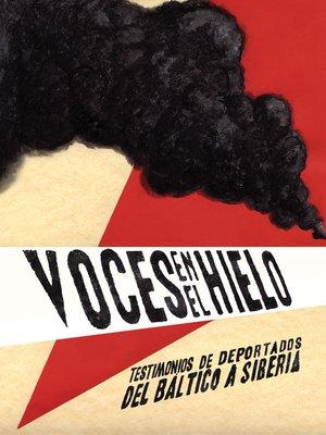 cover image of Voces en el hielo