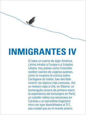 cover image of Inmigrantes IV