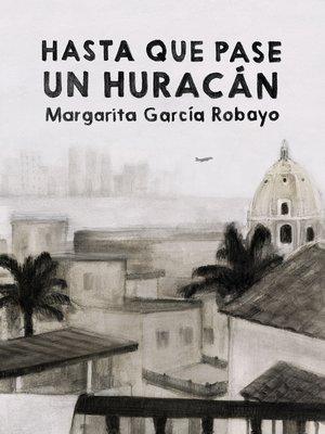 cover image of Hasta que pase un huracán