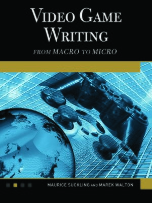 cover image of Video Game Writing