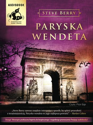 cover image of Paryska wendeta