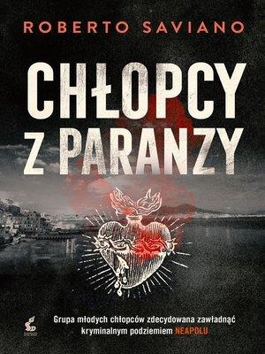 cover image of Człopcy z paranzy