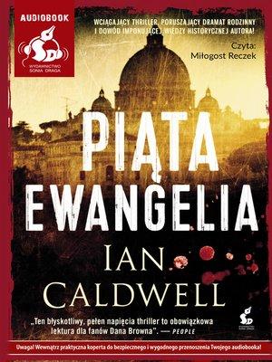 cover image of Piąta ewangelia