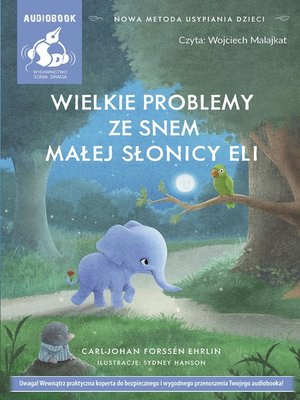 cover image of Wielkie problemy ze snem małej słonicy Eli